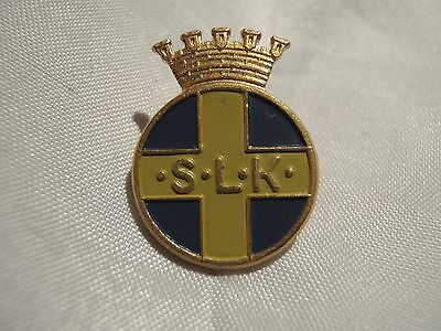 Swedish WW2 voluntary women motor corps  pin badge military Sweden small version