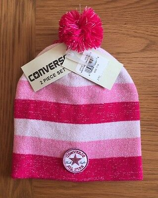 Converse Hat And Gloves Girls
