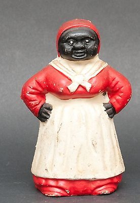 Collectible Cast Iron American Icon Aunt Jemima Still Bank