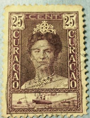 Curacao   Scott#172  Used Stamp ......worldwide Stamps