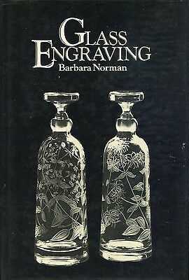 Glass Engraving - Tools Techniques / Scarce In-Depth Instructional Book