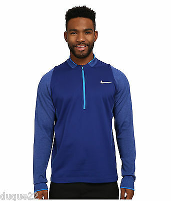 $150 2016 Nike Tiger Woods TW Tech 1 Men's Golf Sweater Pull Over  SIZE XL