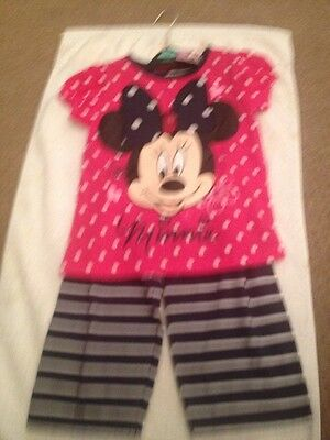Minnie Mouse 2 piece Outfit age 3-4