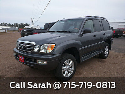 2005 Lexus LX 470 Base Gray 2005 Lexus LX 470 Base- GREAT Condition - LEATHER SEATS - 4WD - MUST SEE