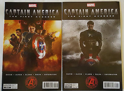 CAPTAIN AMERICA- THE FIRST AVENGER #1 & 2 *complete limited series* 2014