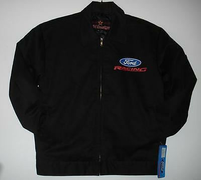 Xl Authentic Ford Racing Mechanic Printed  Jacket New Xl