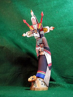 Hopi Kachina Doll - Palhik'mana, the Butterfly Maiden - Spectacular!