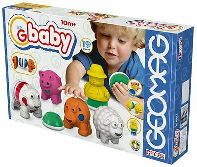 Geomag Gbaby Baby Farm Big Set 19 PCS Building Toy Made In Swiss
