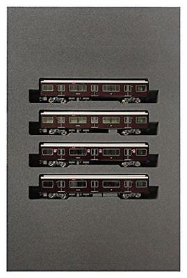 NEW KATO Hankyu Electric Railway Series 9300 Add-On 4-Car Set N-Scale 10-1279