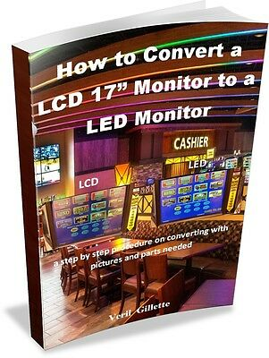 """Kortek Monitors How to Convert a LCD 17"""" Monitor to LED Monitor E-Book   ON SALE"""