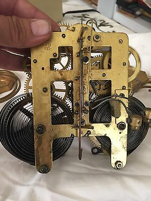 Antique Seth Thomas Bim Bam Normandy Movement With Double Gong