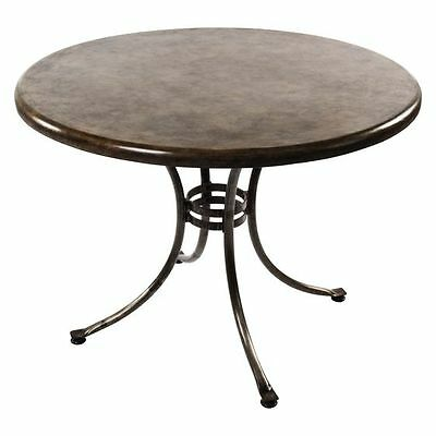 NEW Living by Design Stem Outdoor Round Dining Table