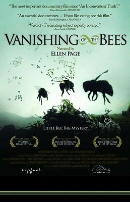 Vanishing of the Bees DVD Narrated by Ellen Page