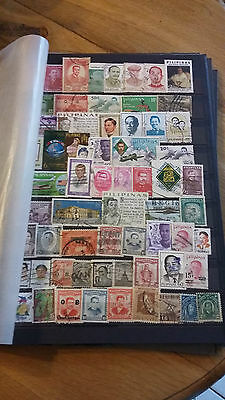 63 timbres Philippines (lot 7)