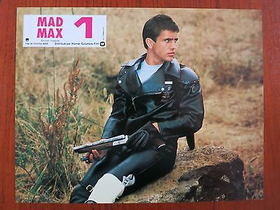 MAD MAX (1979) 11 Original French Lobby Cards R83 Mel Gibson George Miller