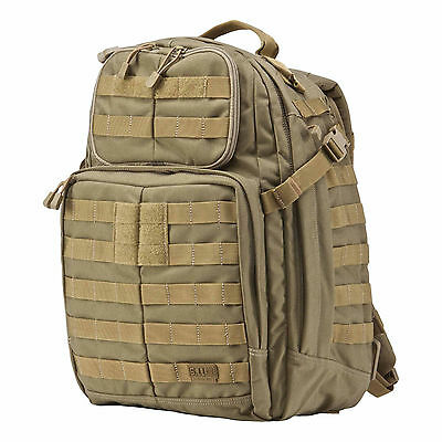 5.11 Tactical Rush 24 backpack MOLLE pack bag - Sandstone - New with tags