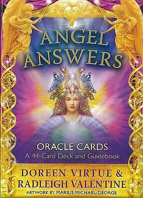 Angel Answers Oracle Cards - Doreen Virtue & Radleigh Virtue