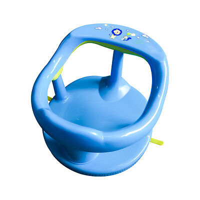 Baby Bath Tub Ring Infant Anti Slip Non Toxic Blue  Safety Seat Same As Keter