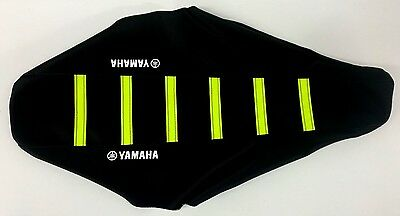 New NEON YELLOW YAMAHA Ribbed Seat cover YZ450F 2010-2012