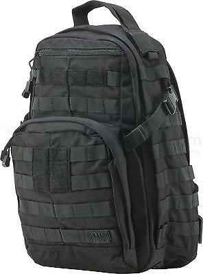 5.11 Tactical Rush 12 backpack Military Hiking pack bag-Black - New with tags