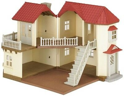 Sylvanian Families Beechwood Hall Set with Lights , Five Rooms for Girl Toy
