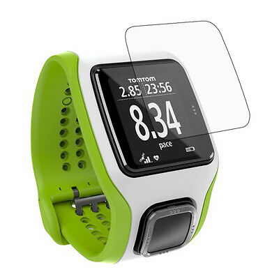 3* Clear LCD Screen Protector Guard Cover Shield Film for TomTom Runner Cardio