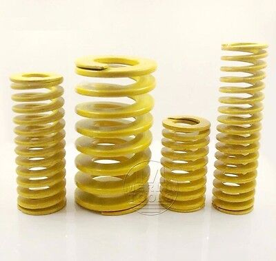 OD 6mm ID 3mm Extra Light Load Yellow Mould Die Spring Select Variations