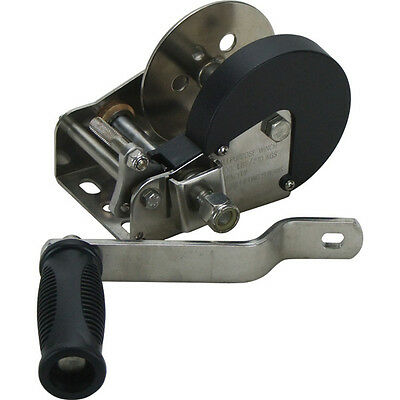Stainless Steel Hand Winch - 54276