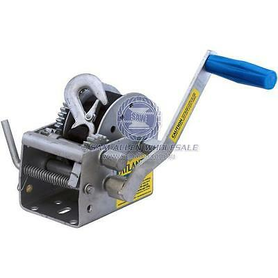 Atlantic 10:1/5:1/1:1 Marine Winch Series - 1000Kg Pull Capacity - 542703