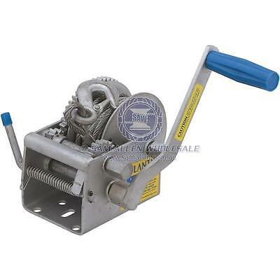 Atlantic 10:1/5:1/1:1 Marine Winch Series - 1000Kg Pull Capacity - 542713