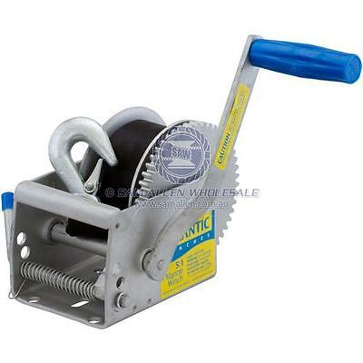 Atlantic 5:1 Marine Winch Series - 700Kg Pull Capacity - 542701