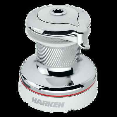 Harken 50 Self-Tailing Radial White Winch - 2 Speed