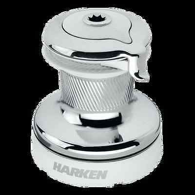 Harken 60 Self-Tailing Radial White Winch - 3 Speed