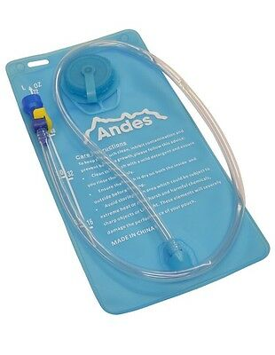 2 Litre Hydration Bladder/Pack Water Reservoir Pouch For Hiking/Cycling By Andes