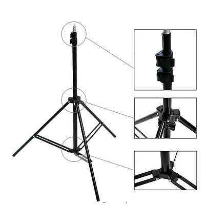2.1m Light Stand Tripod For Photo Studio Softbox Flash Bracket Umbrella Lighting