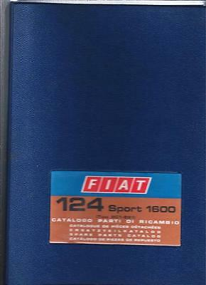 Fiat 124 Sport 1600 spare parts catalog (Tipo BC1-BS1) V-1972 2nd edition