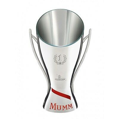 Mumm Champagne Cooler F1 Trophy Style Collectors Champagne Bucket V Rare Lightup