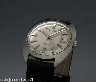 New Old Stock 34mm THERMIDOR 21j vintage AUTOMATIC watch NOS ETA 2452