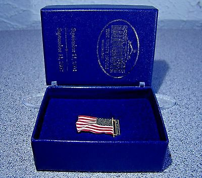 9/11 American Flag Pin Gifted by President George W. Bush on the 1st Anniversary