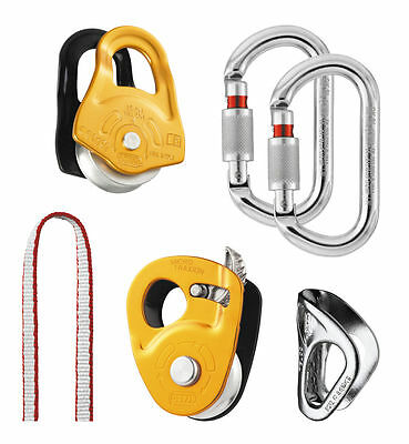 PETZL KIT SECOURS CREVASSE - Kit for hauling and self-rescue from crevasses