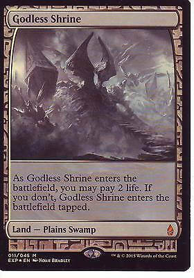 MTG Godless Shrine Expeditions Mythic Rare FOIL
