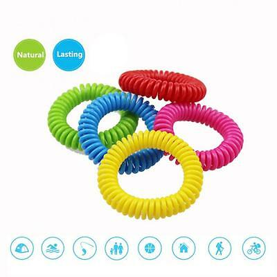 1x Pro Anti Mosquito Pest Insect Bugs Repellent Repeller Wrist Band Bracelet