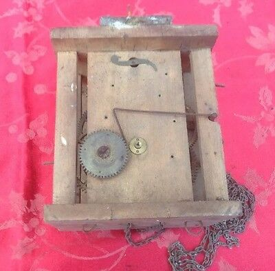 Black Forest Wall Wag On The Wall Clock Movement For Spares Or Repair Unusual