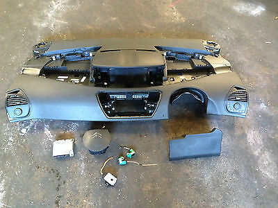Citroen C4 Picasso 06-13 Airbag Kit Drivers Passenger Ecu Bare Dashboard