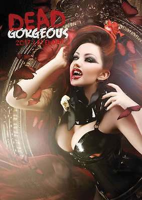 DEAD GORGEOUS CALENDARIO A3 2017 Red Hot Glamour NUOVO