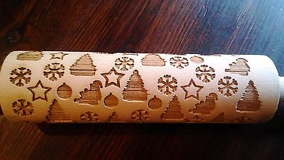 Christmas theme-laser engraved rolling