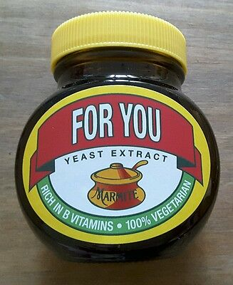 """Marmite Limited Edition  """"For You"""""""