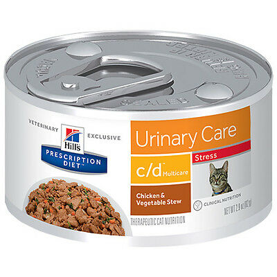 Hills Prescription Diet c/d Feline Urinary Care Stress - Canned | FREE Shippi...
