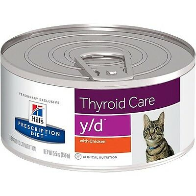 Hills Prescription Diet y/d Feline Thyroid Care - Canned | FREE Shipping to s...
