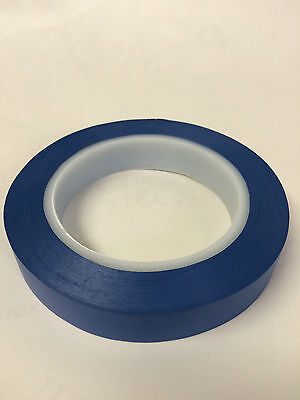 Acrylic BLUE Fine Line Masking Tape 19mm High Temperature x 1 Roll